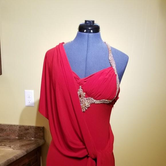 Dresses | Lady In Red Maxi Prom Dress | Poshmark